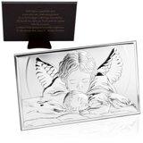 Obrazek Anioł Stróż 12x20 cm chrzest roczek Grawer