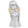 Aniołek  z sercem 7 cm Srebro Grawer Dedykacja Pamiątka Chrztu na Chrzest 1