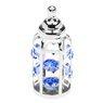 Butelka smoczek Swarovski błękitne kryształypamiątka chrztu  1