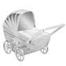 Skarbonka dla dziecka wózek - prezent na Chrzest, Baby Shower, Roczek | z Grawerem 3