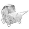 Skarbonka dla dziecka wózek - prezent na Chrzest, Baby Shower, Roczek | z Grawerem 5