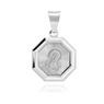 Srebrny 925 medalik Matka Boska Madonna
