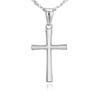 Srebrny krzyżyk z łańcuszkiem / na I Komunię Św. / Chrzest Św. / pr. 925 / Dedykacja w pudełku 3