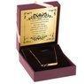 Złoty Naszyjnik pr. 585 nieskończoność z blaszką GRAWER złota kokardka 5