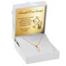 Złoty medalik z Matką Boską pr. 585 Pamiątka Chrzest Święty Komunia Bierzmowanie GRAWER niebieska kokardka 7