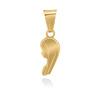 Złoty medalik z Matką Boską pr. 585 Pamiątka Chrzest Święty Komunia Bierzmowanie Grawer