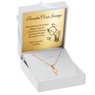Złoty medalik z Matką Boską pr. 585 Pamiątka Grawer Chrzest 2