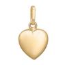 Złoty wisiorek serce pełne pr. 333 URODZINY GRAWER